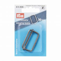 Adjusting Buckle 32mm | Antique Silver | Prym