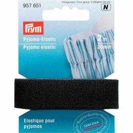 Pyjama Elastic, Black   Prym