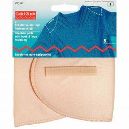Set-In Shoulder Pads | Hook & Loop Fasten | Any Clothing | S, Flesh | Prym