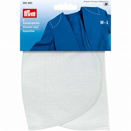 Set-In Shoulder Pad | Sew On | Outer Clothing | M-L, White | Prym