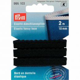 Elastic Fancy Lace, Black | Prym