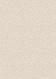 The Village Pond Fabric   Marigold Leaves Dark Cream