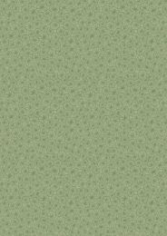 The Village Pond Fabric | Marigold Leaves Grass