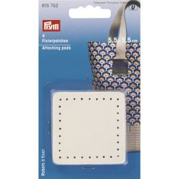 Attaching Pads For Bag Handles, Beige | Prym