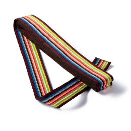 Strap For Bags 40mm x 3m Card | Multi Coloured - Brown