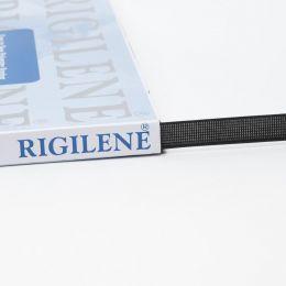 12mm Polyester Boning Rigilene | Black