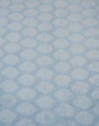 Bubble Coral Fleece | Pale Blue