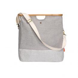 Store & Travel Bag, Canvas & Bamboo, M   Prym