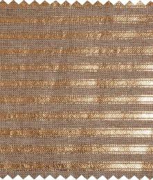 Christmas Fabric Mini Roll 2m x 28cm | Gold Stripe