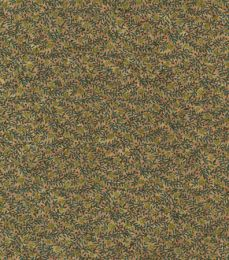 Cork Fabric Print | Garden Tendrils Green