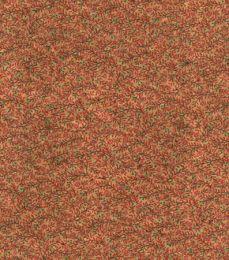 Cork Fabric Print | Garden Tendrils Red
