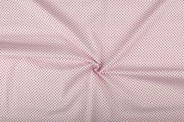 Stitch It, Cotton Print Fabric   Small Dot Reverse Red