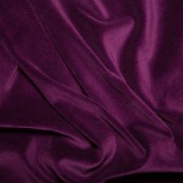 Classic Cotton Velvet Fabric | Purple