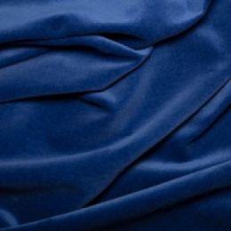 Classic Cotton Velvet Fabric | Royal