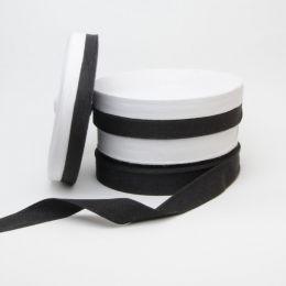 Cotton Tape Black & White 25mm - Empress Mills