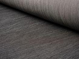 Crinkle Denim Fabric   Black
