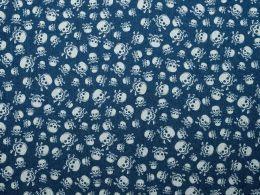 Denim Fabric Print | Jolly Roger