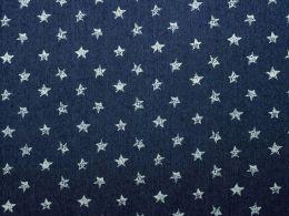 Printed Denim Stars Dark Blue