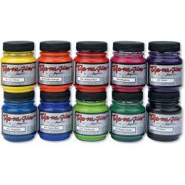 Dye-Na-Flow Paint, 10 Colour Set