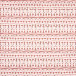 Jersey Cotton Fabric | Geometric Stripe