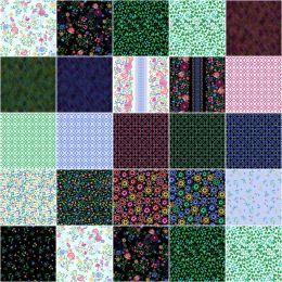 Benartex Strip Pack | Embroidered Elegance