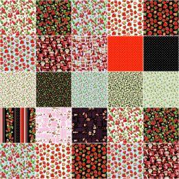Benartex Strip Pack | Strawberry Fields Forever