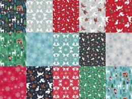 Hygge Glow Fabric   Fat Quarter Pack All Designs