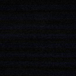 Chenille Knit Fabric | Stripe Navy