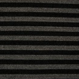 Chenille Knit Fabric | Stripe Grey