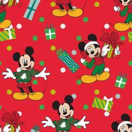 Disney Christmas Fabric | Mickey For Me