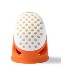Prym Ergonomic Thimble 'Soft Comfort' | Small Orange