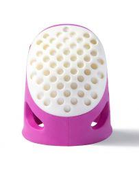 Prym Ergonomic Thimble 'Soft Comfort'   Medium Pink