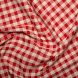Extra Wide Gingham | Red