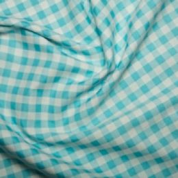 Extra Wide Gingham | Turquoise