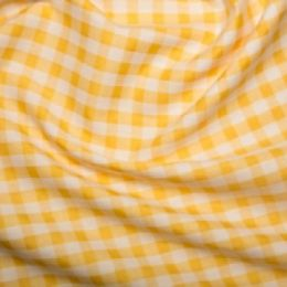 Extra Wide Gingham | Yellow