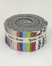 Geometrix Fabric Jelly Roll, Lewis & Irene