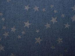 Denim Fabric | Glitter Star