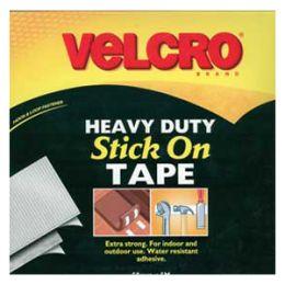 Stick On VELCRO® Brand Fasteners Heavy Duty   50mm