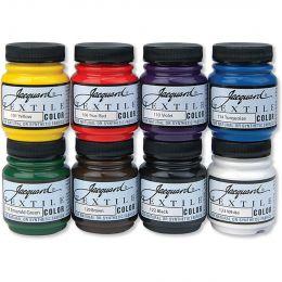 Textile Paint, 8 Colour Set - Classics