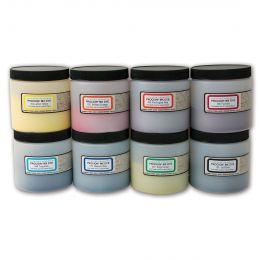 Jacquard Procion Dye Set - 8 shade selection of larger pro size 230g tubs.