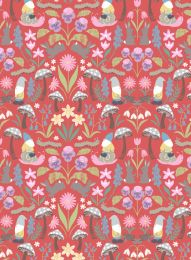 Jolly Spring Fabric | Spring Red