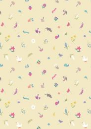 Jolly Spring Fabric | Pretty Little Spring Yellow