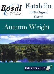 """Bosal Katahdin 100% Cotton Wadding - Autumn   120"""" Wide"""