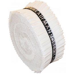 Kona Cotton Fabric Roll Up | White