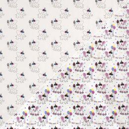 Light reactive Jersey Fabric   Party Elephant