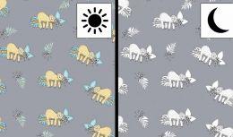 Light Reactive Jersey Fabric | Sloth Grey