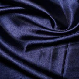 Satin Lining Fabric   Navy