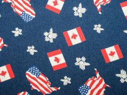 Denim Fabric Print | Good Neighbours