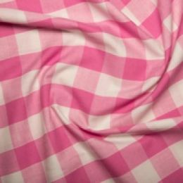 Inch Gingham Check | Pink