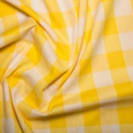 Inch Gingham Check | Yellow